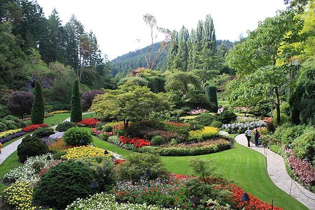 Butchart Gardens British Columbia 2008